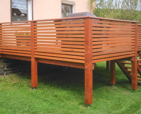 Balkone und Terassen - WMK Holzbau und Zimmerei