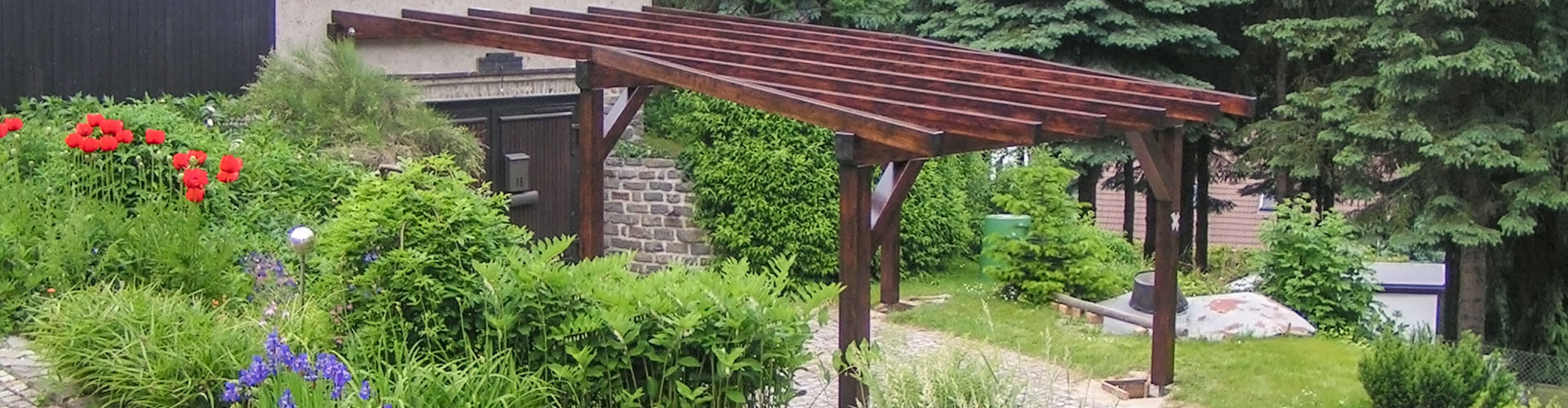 Carport - WMK Holzbau und Zimmerei